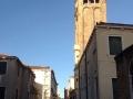 Il-campanile-della-chiesa-di-San-Barnaba-a-Venezia