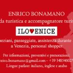 Enrico Bonamano guida turistica e accompagnatore turistico a Venezia