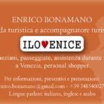 Enrico Bonamano guida turistica a Venezia accompagnatore turistico