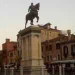 Enrico Bonamano guida turistica accompagnatore turistico visite guidate Venezia monumento equestre Bartolomeo Colleoni