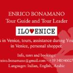 Enrico Bonamano tour guide and tour leader in Venice