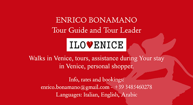 Custom Venice: build Your itinerary with Enrico Bonamano Tour Guide and Tour Leader