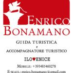 Venezia guida turistica accompagnatore turistico Enrico Bonamano contatti